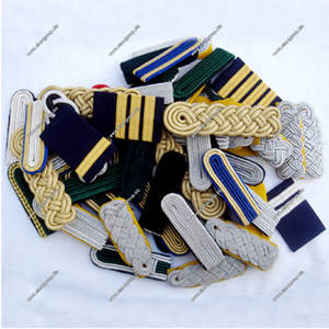 Wholesale double collar shirts: Shoulder Board Collection | Band Master Shoulder Cord | Navy Cord Shoulder Boards
