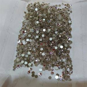 Wholesale crystal clear: Austrian Hot Fix Rhinestone/ Crystal Stone/ Strass/ Diamante Swarovski Element 2038 Clear SS16/ SS20