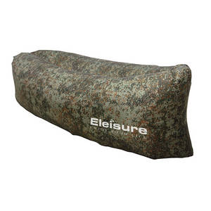 Wholesale hammock: Eleisure Outdoor Inflatable Lounger, Portable Lightweight Nylon Fabric Air Bag Sofa Couch Hammock