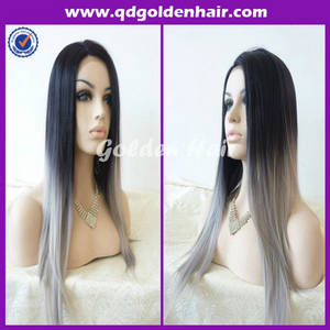 Wholesale neck ties: Hot Sale Fashion Heat Resistant Cheap Ombre Lace Front Wig