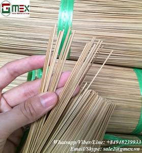 Wholesale Bamboo Raw Materials: Round Bamboo Incense Sticks