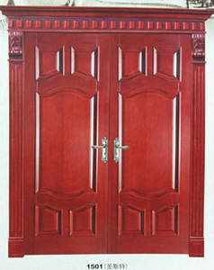 Wholesale Gates: 1501 Solid Teak Wood Door Price