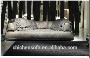 Wholesale indoor furniture: Modern Italian Leather Sofa Model Indoor Furniture Leather Sofa Chair
