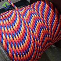 Customized 6x7 Polyester Combination Rope with Fiber Core for Playground