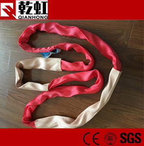 Wholesale lifting sling: Durable Round Polyester Lifting Endless Slings Belt