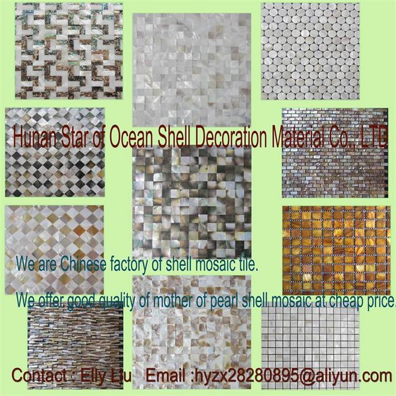 Shell Mosaic Tile Factory Direct Sale