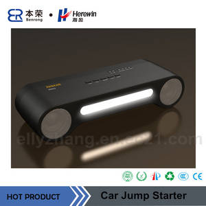 Wholesale speaker with battery: 12000mAh Lithium Battery Auto Jump Start with Bluetooth Speaker