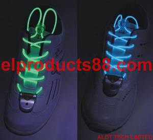 Wholesale el wire: Hot EL Flashing Shoelaces EL Wire Shoelaces (HNR 0041)