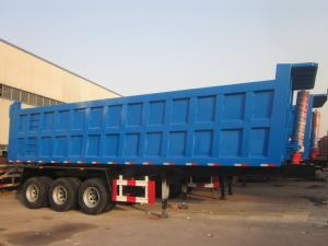 Wholesale side wall trailer: Dumping Semi Trilaer Hyva Liifting System 3 Axle Fuwa Brand