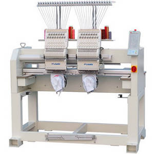 Wholesale cap embroidery machine: Two Heads Cap Embroidery Machine