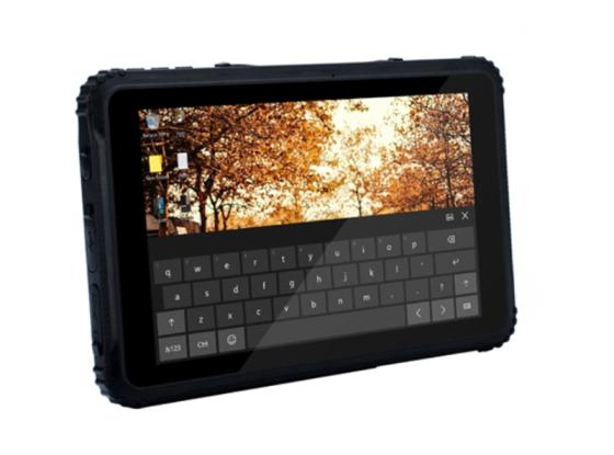 Waterproof 8 Inch Industrial Rugged Tablet PC Android WIN10 with Barcode Scanner