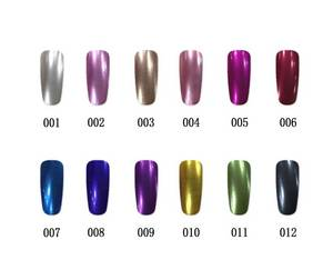 Wholesale uv gel: 2016 Caixuan V.Chlo 15ml Metallic Color UV Gel Nail Polish 12colors