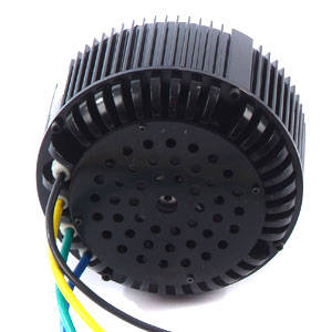 electric motorcycle: Sell 5KW bldc motor FAN COOLING