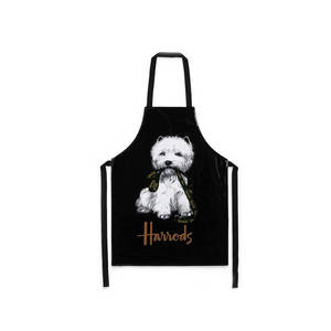 Wholesale aprons: Promotional Customized Cooking Kitchen Apron with Logo and Pocket