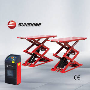 Wholesale scissor lift: Ultra Thin Scissor Car Lifts, the Lift, Car Hoist