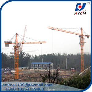 Wholesale head model: HYCM Brand 50m 0.8t Jib Tower Crane TC5008 Model with Head