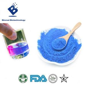Wholesale Food Colorants: Spirulina Extract (Phycocyanin) Powder E25