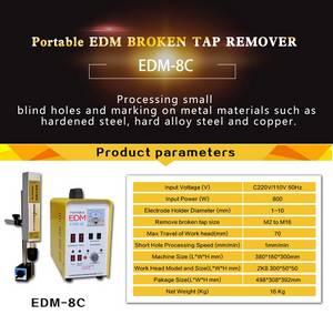 Wholesale removal tool: Portable EDM Device, EDM-8C for Removing Broken Taps and Tools
