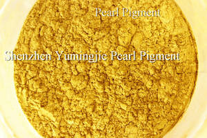 Wholesale royal jelly powder: Gold Pearl Pigment, Gold Pearlescent Pigment