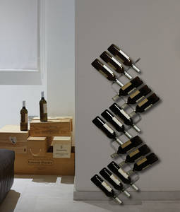 Wholesale wine rack: Wine Rack in Transparent Plastic Italian Design Racks & Holders