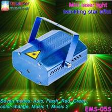 Wholesale disco parts: Mini Christmas Laser Light Multifunction Disco Laser Stage Light Twinkling Star Effect Factory