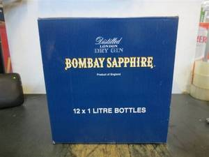 Wholesale gin: Gins - Gordons, Beefeater, Bombay, Tanqueray, London's