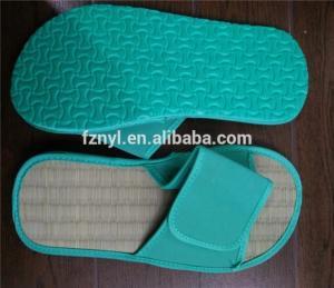 Wholesale hotel slipper: Fashion Wholesale Straw Sandals Slipper ,Hotel Flip Flops , Indoor Beach Slipper