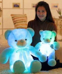 Wholesale eye care: Dimmable Eye-caring LED Light Up Teddy Bear