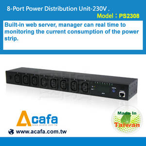 Wholesale pdu: 8-Port Power Distribution Unit-230V -IP Power