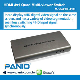 CCTV Products: Sell HDMI 4x1 Quad Multi-viewer