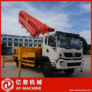 Sell 32m long boom length concrete pump truck hot sale in Vietnam
