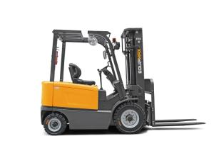 Wholesale truck tyre: 3.0 Ton Electric Forklift Truck with Italy ZAPI Controller with Cabin with Dual Front Tyres