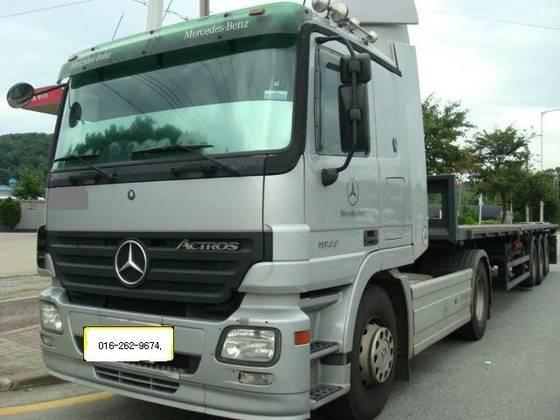 Sell trailer head(unit) mercedes benz+man+volvo_daewoo