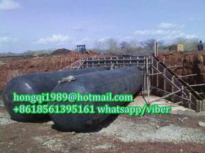 Wholesale inflatable balloon: Inflated Balloon Used for Culvert and Drainage Construction