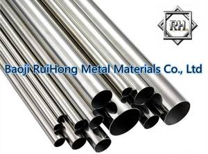 Wholesale titanium tube pipe: GR5 Titanium Pipes/Tube
