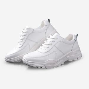 Wholesale fashion shoes: 2019 New Fashion Casual Men Shoes White Shoes