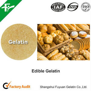 Wholesale bakery: Organic Bakery Food Ingredients, Food Grade Gelatin 80-280 Bloom