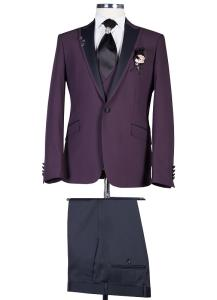 Wholesale Suits & Tuxedo: Pointed Collar Groom's Suit