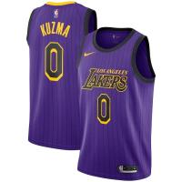 Sell 2018-2019 NBA Los Angeles Lakers Kyle Kuzma #0 City Edition Swingman Jersey