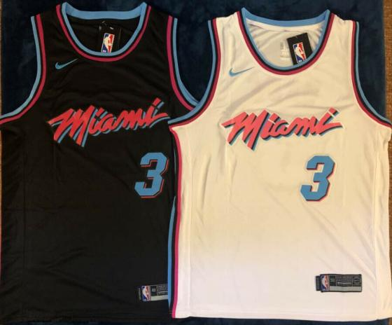 new product 796f8 a0ecf Dwayne Wade Miami Vice City Edition Miami Heat Mens Stitched Swingman  Jersey(id:10913777). Buy United States Jersey - EC21