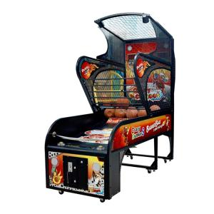 Wholesale arcade amusement: Luxury Amusement Adult Sporting Coin Operated Electronic Shooting Street Basketball Arcade Game
