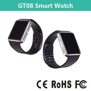 Wholesale smart product: New Product Smart Watch 2015,Bluetooth Nfc Smart Watch,Smart Watch GT08 with SIM Card