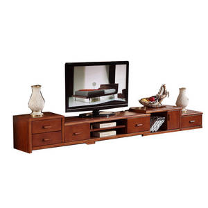 Wholesale TV Stands: Modern Rustic Furniture Walnut TV Cabinet