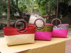 Wholesale Bamboo Crafts: Bamboo Bag for Lady