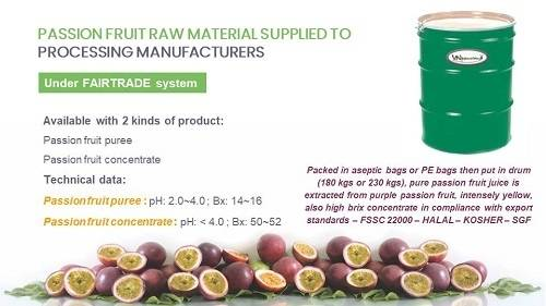 Sell Passion Fruit Raw Material Supplied To Processing Manufacturers