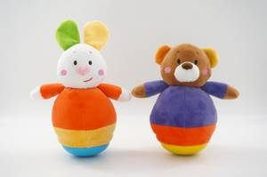 Wholesale plush bear: Hot Sale Plush Toy Tumbler Rabbit and Bear