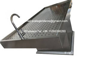 Wholesale lift table: Funeral Lifting Body Wash Table