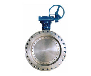 Wholesale flange type butterfly valve: Manual Flange Type Metal Butterfly Valve