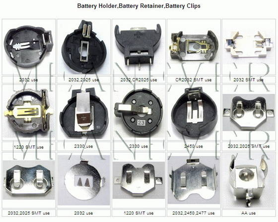 Sell Battery Retainer,Battery Contacts,Battery Clips