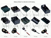 Sell battery holder and battery retainer